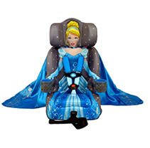 KidsEmbrace Friendship Booster Car Seat, Cinderella