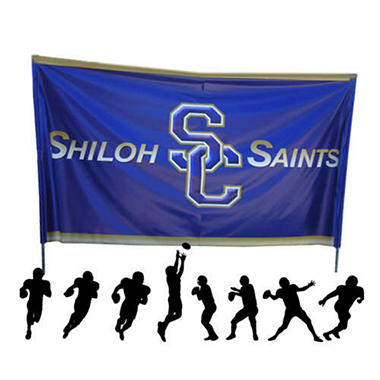Custom Design Breakaway Banner - 7' x 12'
