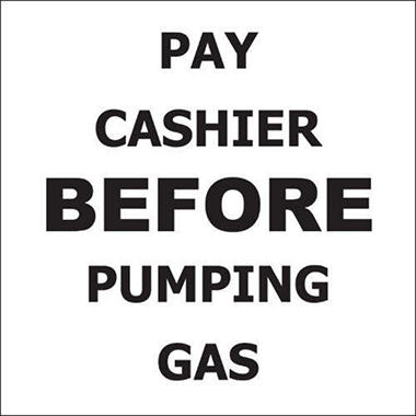 Pay Cashier Before… - 6