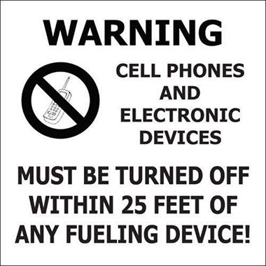 No Cell Phones - 6