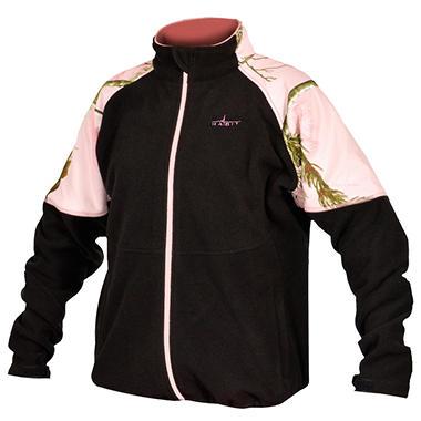 Habit Women's Fleece Jacket, Realtree Xtra Pattern ...