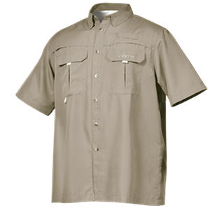Men's Short Sleeve Vented River Shirt by Habit (Assorted Colors)