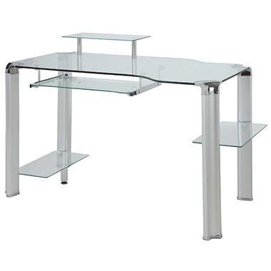 Innovex - Fusion Glass Desk - Clear