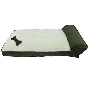Cozy Craft Deluxe Pet Cozy Lounger - Moss