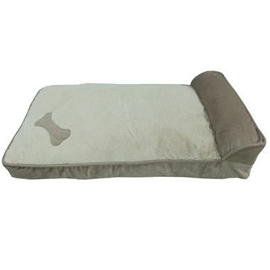 Cozy Craft Deluxe Pet Cozy Lounger - Taupe