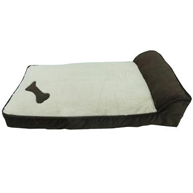 Cozy Craft Deluxe Pet Cozy Lounger - Chocolate
