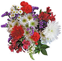 Patriotic Mixed Bouquet - 10 pk.