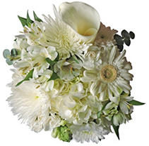 Simply White Mixed Bouquet - 8 pk.