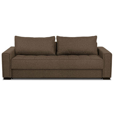 Serta Hailey Convertible Lounger- Brown