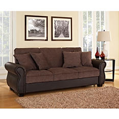 Serta Jordan Sofa Lounger- Cocoa/Java