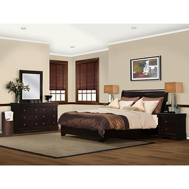 Serta Sydney Bedroom Set - King - 5 pc.