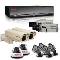 REVO America 16 Channel Surveillance System, 2 540 TVL Dome Cameras, 4 540 TVL Bullet Cameras, 2 600 TVL Box Cameras