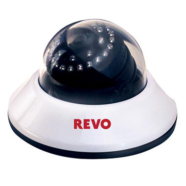 Revo 600 TVL Dome Camera with 80 Ft. Night Vision