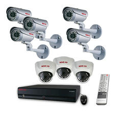 Revo 16 Channel HD Security System with 8 2MP HD cameras, 4TB HDD, and 120' Night Vision