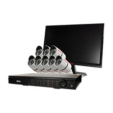 Revo 16 Channel 1080p HD Security System with 2TB Hard Drive, 8 1080p Bullet Cameras, with 100' Night Vision