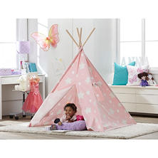 Kid's Glow in the Dark Teepee (Pink)
