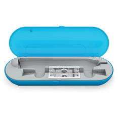 Dazzlepro Travel Charging Case with UV Sanitizer, Sky