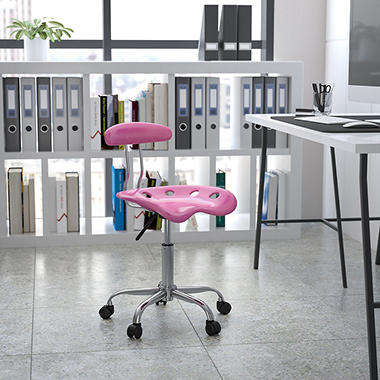 Flash Furniture - Tractor Seat Task Chair - Various Colors