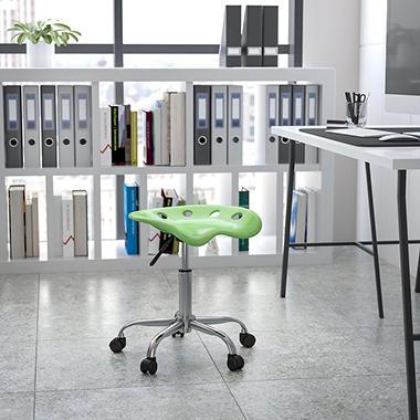Flash Furniture - Tractor Seat Stool - Green