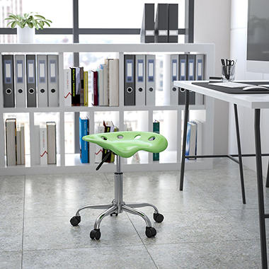 Flash Furniture - Tractor Seat Stool - Green
