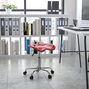 Flash Furniture Tractor Seat Stool - Red