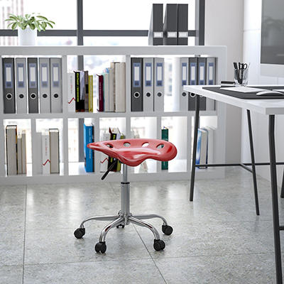 Flash Furniture - Tractor Seat Stool - Red