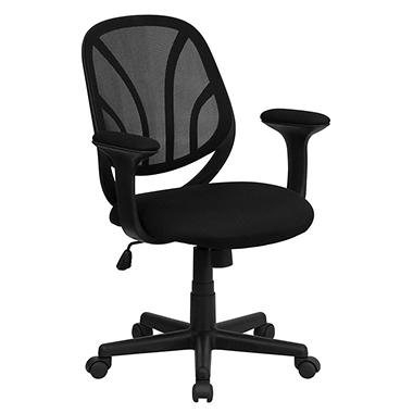 Flash Furniture Mid Back Black Mesh Office Chair Sam 39 S Club