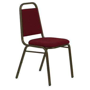 Hercules - Fabric Banquet Chair, Burgundy - 40 Pack