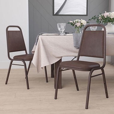 Flash Furniture - Hercules Series Vinyl Banquet Chair - Brown