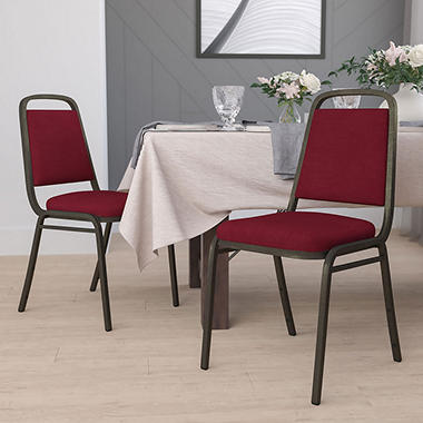 Flash Furniture - Hercules Series Fabric Banquet Chair - Burgundy