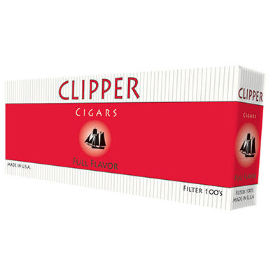 Clipper Cigars Full Flavor 100s - 200 ct.