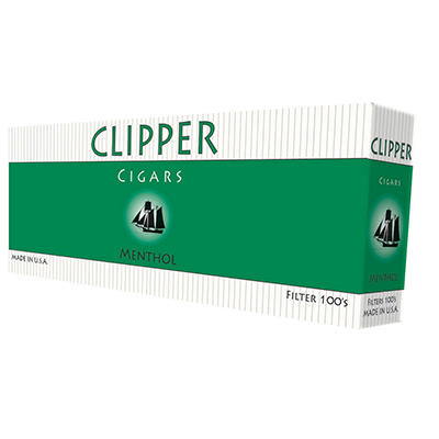 Clipper Cigars Green 100s - 200 ct.