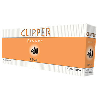 Clipper Cigars Peach 100s - 200 ct.