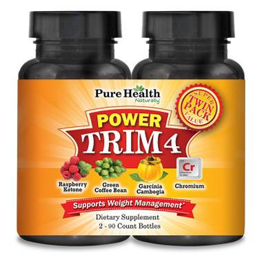 Pure Health Power Trim 4 Dietary Supplement (90 ct., 2 pk.)