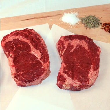 Steakhouse Certified Savory Beef Ribeye Steaks - 10 oz. - 8 ct. case