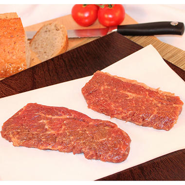Steakhouse Certified Savory Sirloin Tri Tip Steaks - Various Pack Sizes