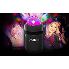Ion Party Starter Portable Bluetooth Speaker With Built-In Light Show