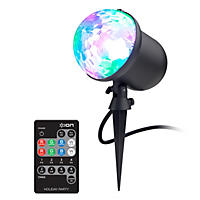 ION Holiday Party Multi-color Indoor/Outdoor Projector LED light