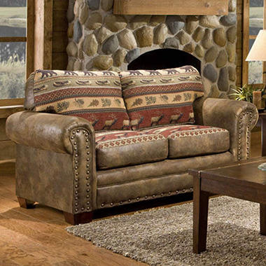 Sierra Lodge Loveseat