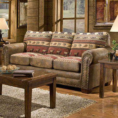 Sierra Lodge Sofa.