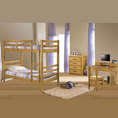 Explorer Bunk Bed Bedroom Set 4 Pc Sam 39 S Club