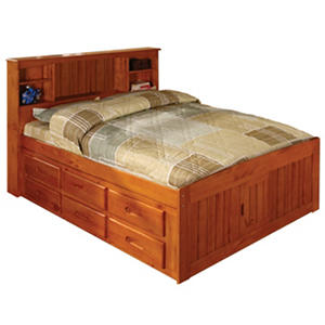 Bookcase Full Bed (Assorted Colors)