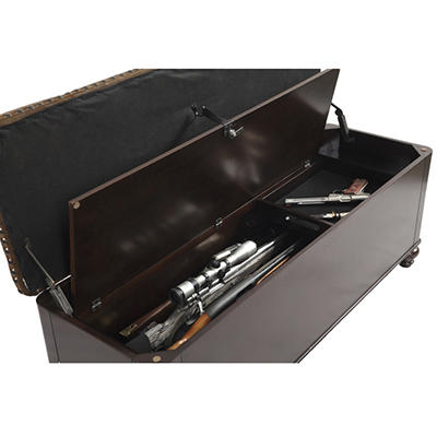 Wooden Gun Concealment Bench