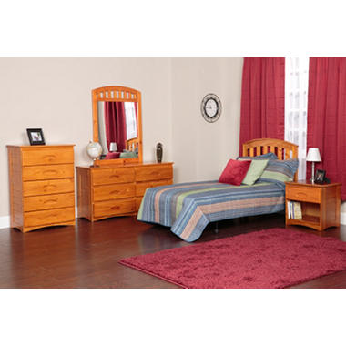 5 Piece Bedroom Set Twin And Full Various Colors Sam