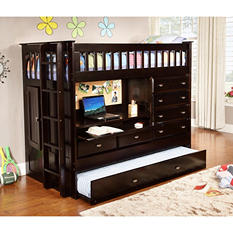 Twin All-in-One Loft Bed