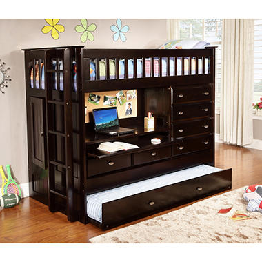 Twin All In One Loft Bed Sam S Club