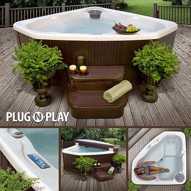 Aquarius Spa with Bonus Spa Steps