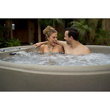 LifeSmart Retreat Plug 'n' Play Oval Spa with Steps, Original Price $2699.00