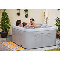 LifeSmart Celestial 4 Person Plug 'n' Play Spa with Steps