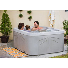 LifeSmart Celestial 4 Person Plug 'n' Play Spa with Steps, Original Price $2469.00